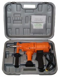 4 New 2 Speed Hand Held Core Drill With Case
