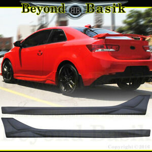 For 2010 2011 2012 2013 Kia Forte Koup 2pc Nefd Style Aero Side Skirts Body Kit