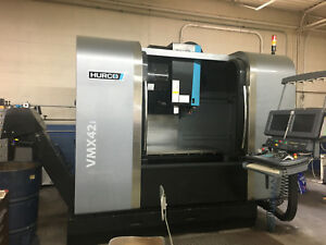 Hurco Vmx42i Cnc Vertical Machining Center 2012