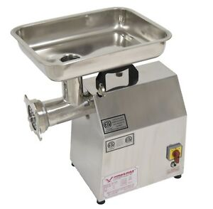 American Eagle Ae g22n Commercial Stainless Steel 22 Meat Grinder 1 5hp