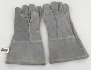 Ansell Cowhide Leather Heavy Duty Welder Glove Size L Ansell 46101