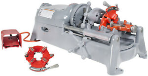 Ridgid 535 V1 Pipe Threading Machine With 2 811a Die Heads reconditioned