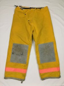 Express Yellow Firefighter Nomex Thermal Lined Protective Turnout Pants