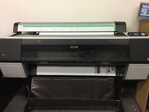 Epson Styles Pro 9900 Photo Wide Format Printer Only 12k Prints Printed