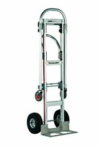 Magliner Gemini 18 Nose Convertible Sr Hand Truck Loadcp 61 55 3 4 Longx21 W