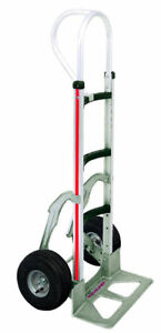 Magliner Hand Truck W Curved Frame 52 18 Nose 10 Tire With Stair Glides