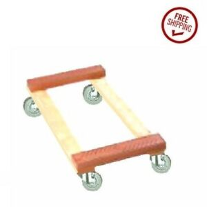 Heavy Duty Oak Rubber Ends 3 1 2 Rubber Wheel Movers Dollie Protects Furniture