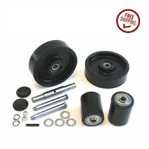 Lift rite Titan Jack Pallet Jack Wheel Kit complete includes All Parts Shown