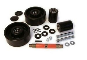Jet j Pallet Jack Wheel Kit complete includes All Parts Shown