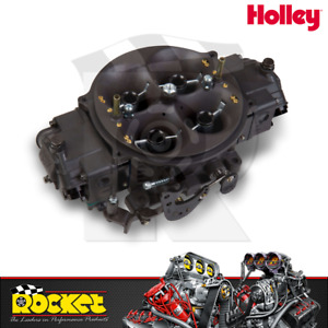 Holley 1250cfm Gen 3 Ultra Dominator Hard Core Grey Carburettor Ho0 80908hb