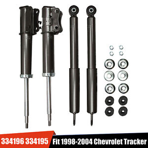 Front Rear Full Set Shocks Struts For Suzuki Sidekick Chevrolet Geo Tracker New