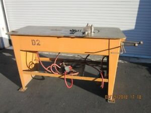 Carbide Industries 2 Stop Table Wire Bender Lubow Type