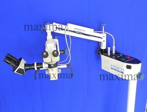Dental Microscope 5 Step Led Light Assistant Scope With Camera