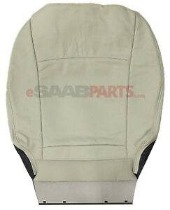 New Saab 9 3 Seat Cover Front Bottom Lh Driver Side L02 Beige Interior Oem