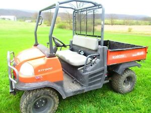 08 Kubota Rtv900 Utility Vehicle Side By Side 4x4 Diesel 1060 Hours Utv Atv Used