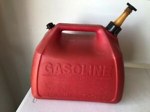Vintage Gott Gas Can Vented 5 Gallon Clean In out Model 1251