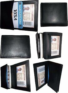 Lot Of 6 New Leather Business Card Credit Card Holder Fifty Card Case Id Nwt