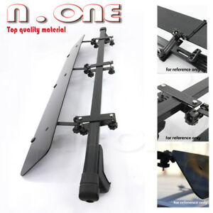 48 Cross Bars Rail Tower Roof Top Rack Cargo Carrier Wind Fairing For Jeep