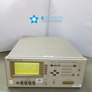 Hp 4284a Precision Lcr Meter 20 Hz To 1 Mhz opt 002