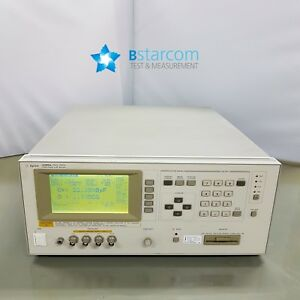 Hp 4285a Precision Lcr Meter 75 Khz To 30 Mhz opt 002 202 700