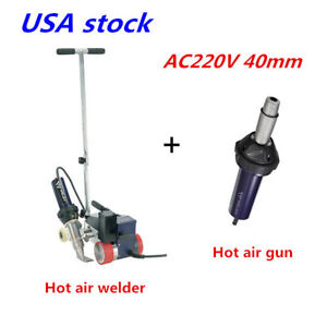 Usa 40mm Plastic Powerful Hot Air Roofer Welder Machine Special 1 Hot Air Gun