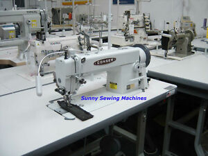 Consew 205rb 1 Fully Assembled Walking Foot Sewing Machine For Leather W Servo