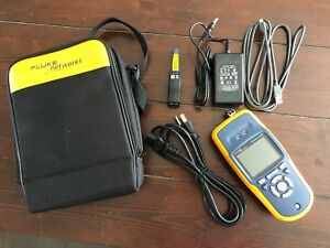 Fluke Linkrunner Lrat 2000 W Fiber Sfp Copper Ethernet And Fiber Tester