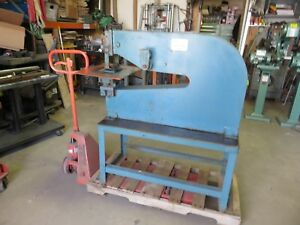 Roper Whitney 34 Lever Punch 8 Ton Punch Press Diacro pexto Metal Punch