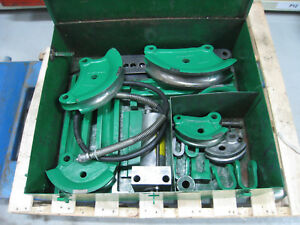 Greenlee 782 Hydraulic Conduit Tubing Roll Cage Bender 1 2 2 Free Shipping