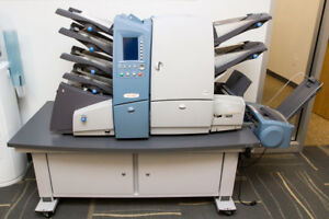 Secap Si4400 Folding And Inserting System Machine