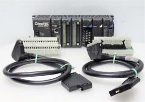 Automation Direct Logic 205 Koyo Dl260cpu With 4 modules 2 Cables 2 Zl cm40