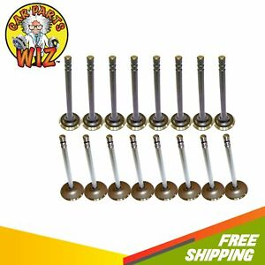 Exhaust And Intake Valves Fits 81 95 Gmc Blazer 5 0l V8 Ohv 16v Chevrolet