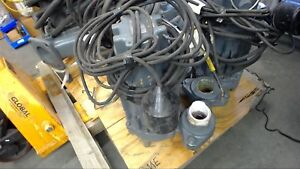 Zoeller J293 c 1 Hp Submersible Pump 200 Volts 8 2 Amps 3 Phase