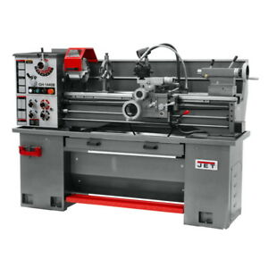 Jet Gh 1440b Bench Lathe With Stand And Foot Brake P n 331440 Free Shipping