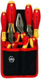 Wiha Screwdriver Set Insulated Precision 7 Piece Industrial Pliers Cutters