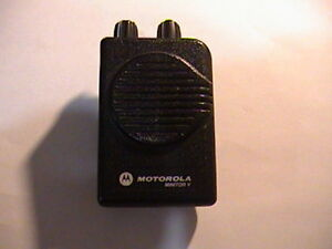 Motorola Minitor 5 Sv Uhf 500mhz Fire ems Voice Pager