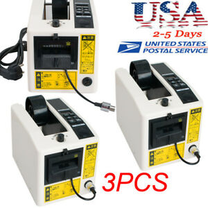 3 Automatic Tape Dispensers Adhesive Tape Cutter Packaging Machine Digital