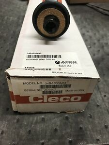 Cleco 34ras36ax3 Nutrunner 3 8 Drive 26 Ft Lbs Max 545 Rpm