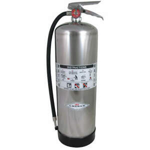 Amerex Fire Extinguisher water Fire a 2a 240