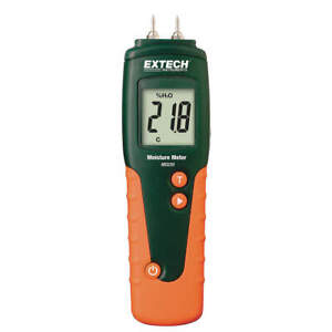 Extech Moisture Meter With Replaceable Contacts Mo220