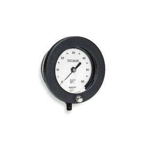 Ashcroft Pressure Gauge 0 To 100 Psi 6in 1 4in 60 1082as 02l 100 Psi