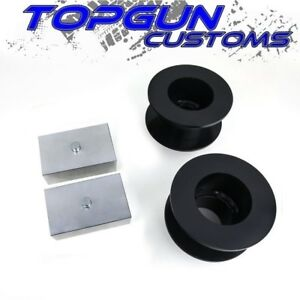 2005 2019 Ford F250 3 Inch Front 1 Rear Suspension Steel Lift Leveling Kit