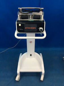 Ethicon Gen11 Generator Harmonic Scalpel With Foot Switch Cart sw 2016 1