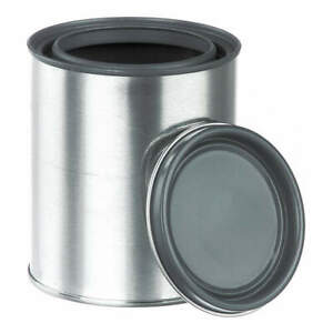 Qorpak Paint Can 1 Gal tin Plate Metal pk34 Met 03100 Silver