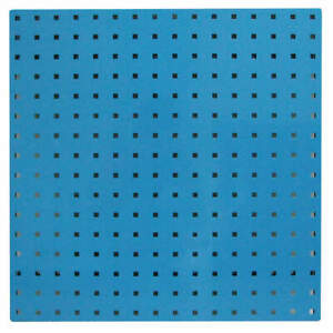 Pegbrd Panel 24 squr Hole blue pk2 5tpa8