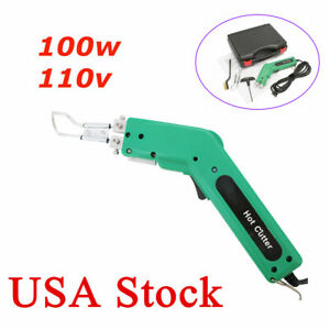 Us 110v 100w Durable Practical Handheld Hot Heating Knife Cutter For Fabric Rope