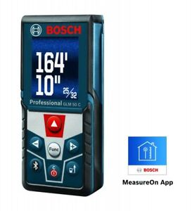 Bosch Glm 50 c 165 Ft Laser Measure