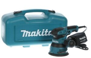 Makita Finishing Sander 3 Amp Double Insulated Pad Brake Variable Speed