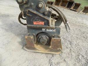 2013 Bobcat Pcf 34 Plate Compactor For Mini Excavators X change Quick Coupler