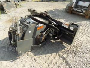 2014 Bobcat 14 Planer Attachment For Skid Steer Loaders Hydraulic Side Shift